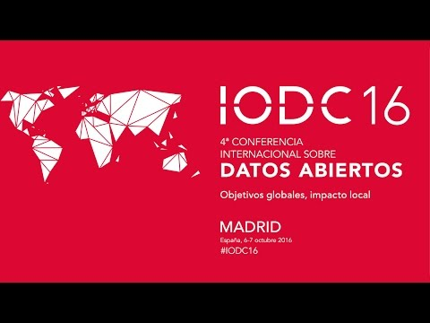 IODC16 October 7th  MORNING SESSION ENGLISH