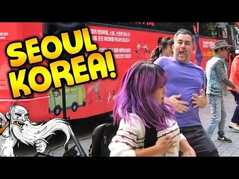 "Hermit Around The World - ""RANDOM STREET DANCING!!!""  - Travel Vlog - Seoul, South Korea"