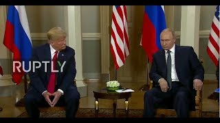 LIVE: Putin-Trump Summit takes place in Helsinki