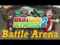 Minecraft Benja & Bacca Olympics S2 - BATTLE ARENA - HOT PEPPER CHALLENGE (Challenge #6)