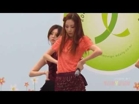 간미연(簡美妍) - 미쳐가(要瘋了).110515.Edaily綠絲帶.FanCam