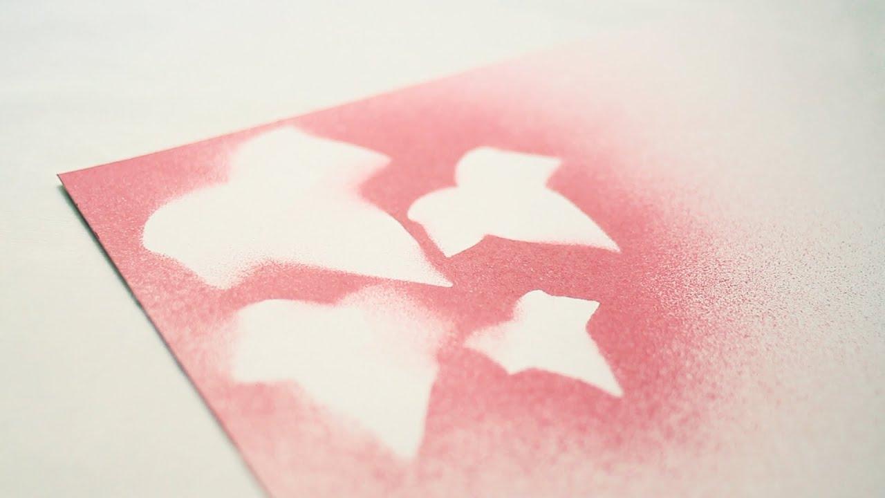 C mo decorar folios con hojas youtube - Como aislar una pared ...