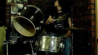 Hellion - WASP Wendy clark drum cover (Horrible)