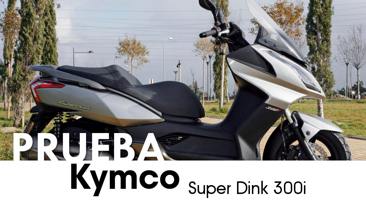 kymco super dink 300i - videoprueba - castellano - 2013 - youtube