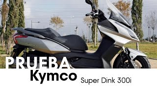 Kymco Super Dink 300i - videoprueba - castellano - 2013