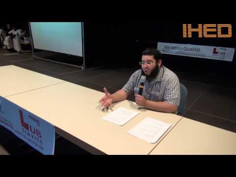 Imam Amin Dali - Vortrag auf IHED Benefiz im Juli 2012