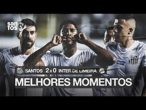 SANTOS 2 X 0 INTER DE LIMEIRA | MELHORES MOMENTOS | PAULISTÃO (30/01/20)