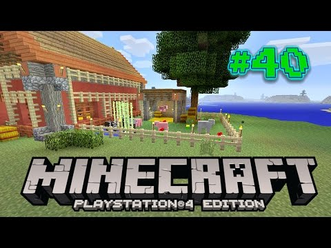 Minecraft PS4 Survival #40 | The Animal Farm