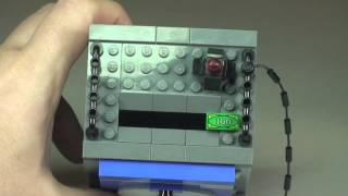 Kids Play Activity - Lego Motivation - Lego City Coin Bank Set 40110 Review