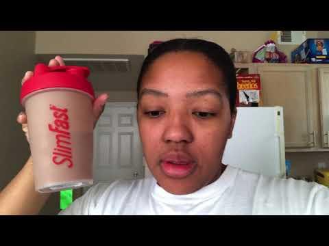 First Week On The SlimFast Diet