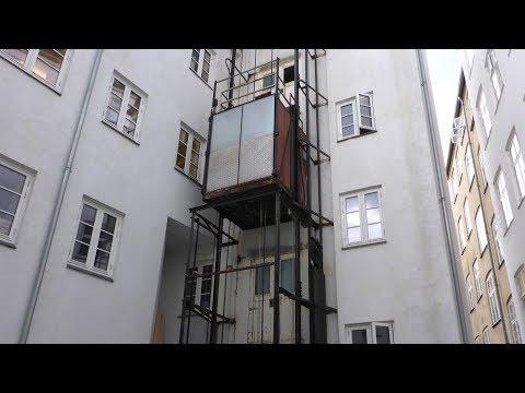 Amazing Historic Outdoor Elevator!