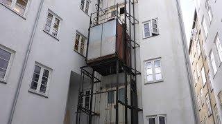 Amazing Historic Outdoor Elevator
