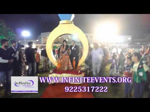 RING THEME  BRIDE & GROOM ENTRY BOOKING INFINITE EVENTS 9225317222,9823606102