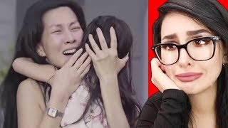 Reacting to the SADDEST Videos TRY NOT TO CRY CHALLENGE