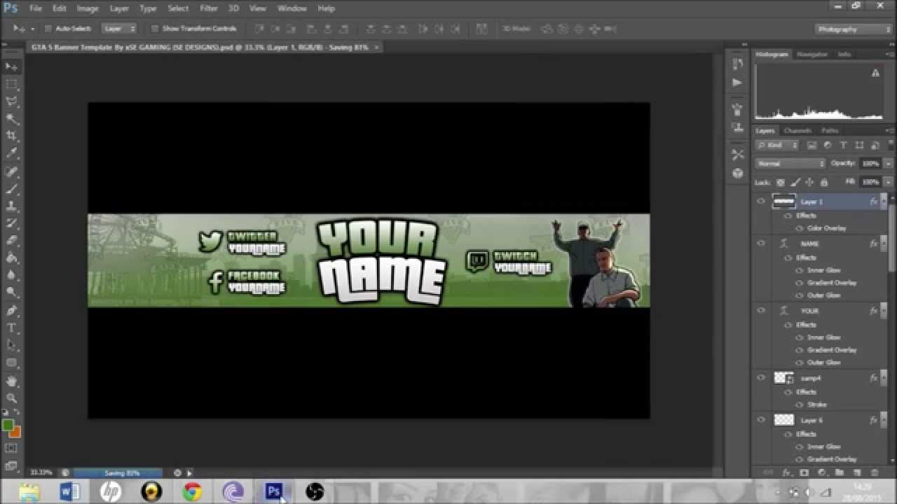 gta 5 banner template profile picture template free banner profile picture template