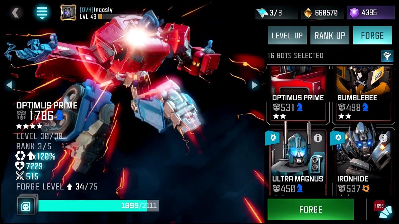 Forging 2 S Into Optimus Prime And Opening X50 Premium Bot Crystals Transformers Forged To Fight