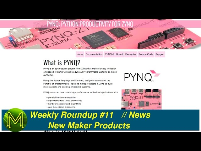 Pynq Examples