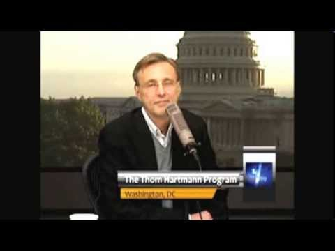 Thom Hartmann Butchers Republican Caller