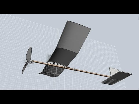 how to build a foam glider