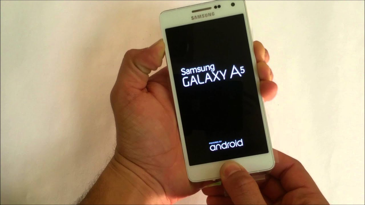 forgot samsung password a5