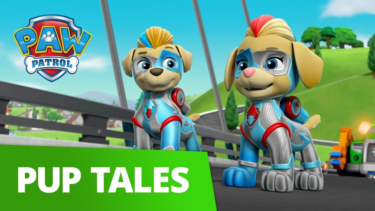 PAW Patrol | Mighty Twins to the Rescue | Rescue Episode | PAW Patrol Official & Friends!