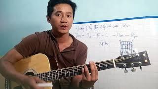 Hướng dẫn guitar đắp mộ cuộc tình