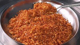 अतिशय खमंग टिकाऊ उपयोगी अशी चटणी बनवा माझ्या पध्दतीने | चटनी | chutney | maharashtrian chatni