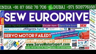 SEW Eurodrive how to check a servo motor, servo motor encoder problems, heidenhain Sick products