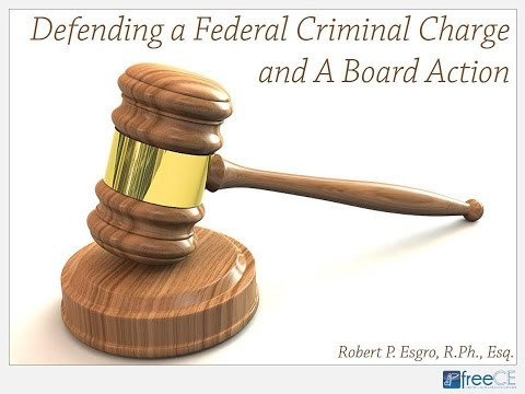 Defending a Federal Criminal Charge and a Board Action