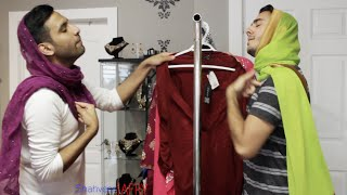 When GIRLS pick the same dress! /With ZAID ALI
