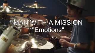 Joe、中学2年生です。(13years old)。MAN WITH A MISSION の 「Emotio...