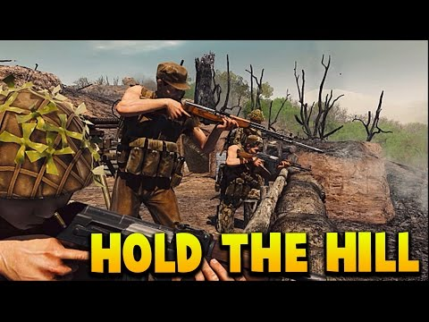 HOLD THE HILL - MY NEW FAVORITE FPS - Rising Storm Vietnam 2 Beta Gameplay