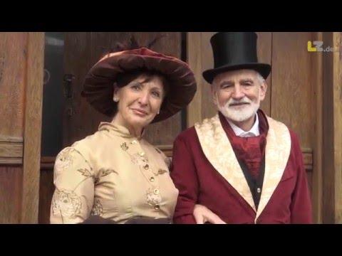 Charles Dickens Festival in Blomberg eröffnet