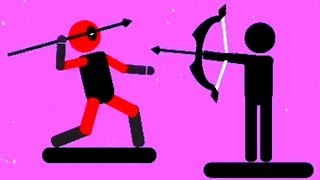 Stick Hero Fight The SpearMan Archer fight Android Gameplay HD