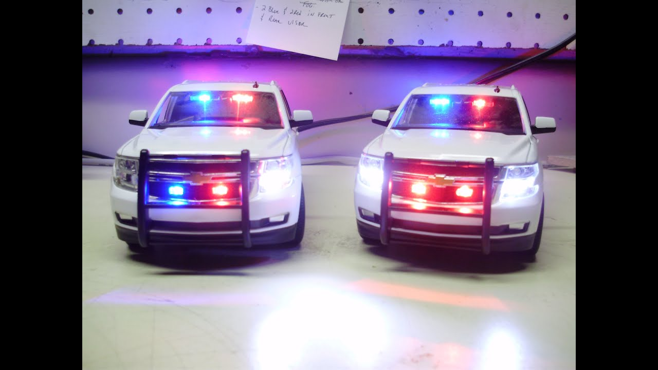 Jonathan s custom unmarked 2015 tahoe ppv police diecast models w working lights youtube