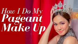 PAGEANT MAKE UP (gaano ka dirty? haha) LARS PACHECO | Tutorial#2