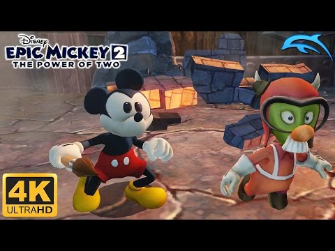 Epic Mickey 2: The Power Of Two - Gameplay Wii 4K 2160p (Dolphin 5.0)