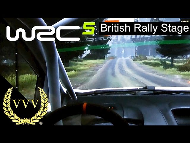 WRC 5 - British Rally Stage