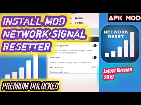 NETWORK SIGNAL RESETTER: Network Speed Booster Mod 2019 | Apk Premium  Unlocked Adfree Latest Version