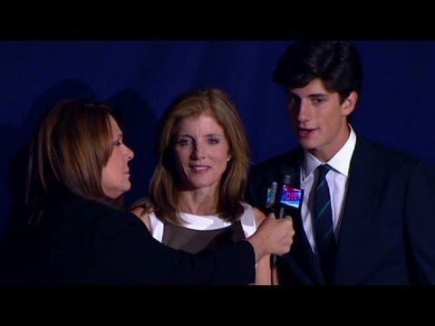 DNC: Caroline Kennedy, JFK's grandson Jack Schlossberg, say ...