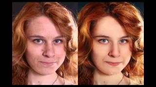 Портретная ретушь Photoshop