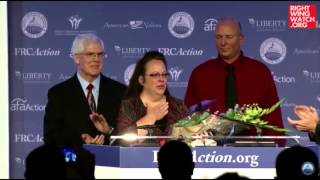 RWW News: Kim Davis Receives The