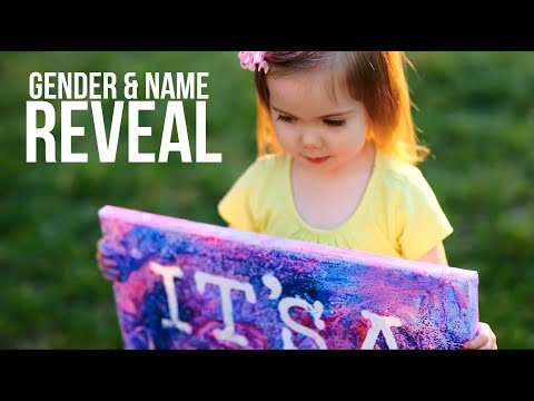 Baby Gender and Name Reveal