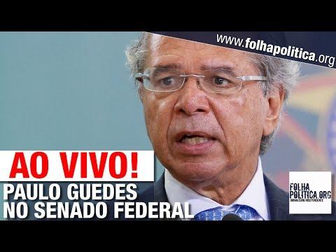 AO VIVO: PAULO GUEDES DEBATE COM SENADORES NO CONGRESSO NACIONAL - MINISTRO DA ECONOMIA/BOLSONARO
