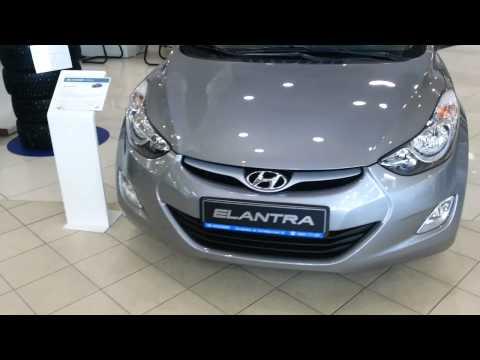 Hyundai Elantra 2014 рестайлинг