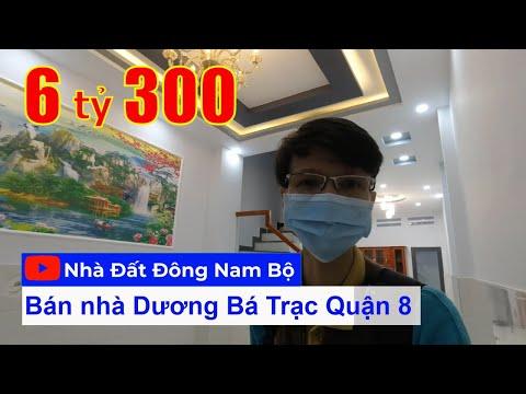 Video nhà bán Quận 8 mới nhất đường Dương Bá Trạc. DT 3,7x15m xây mới