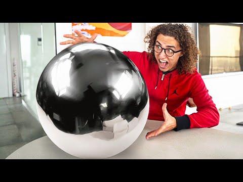 WORLDS BIGGEST MIRROR