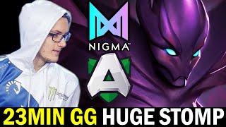 23MIN GG Huge Stomp — NIGMA vs ALLIANCE