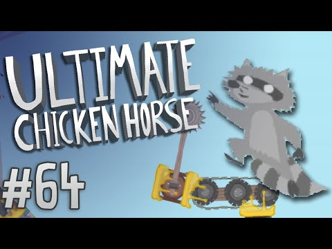 Ultimate Chicken Horse - #64 - Sticky Situation