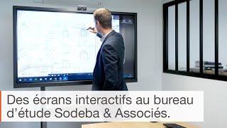 Témoignage sur l'utilisation de l'écran interactif en entreprise : le bureau d'études Sodeba